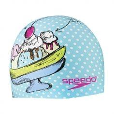 Speedo Sundae Fun Day Silicone Swim Cap
