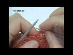 Набор петель по боковой кромке - YouTube