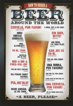 twee pintje alstublieft!  How to order beer around the world