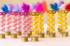 30 Carnival Favors for Elementary and Elementary Education - Aluno On - Carnaval - Circus Birthday, Birthday Parties, Hollywood Sweet 16, Decoration, Alice, Diy Crafts, Party, Handmade, Elementary Education