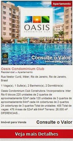temosseuimovelrj.com.br: Oasis Condomínium Club - Apartamentos de 2 e 3 qua...