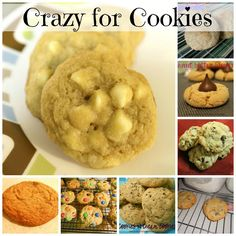 Fantastical Sharing of Recipes: Crazy for Cookies