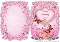 Name Meaning Card Ann on Craftsuprint - Add To Basket!
