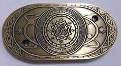 RPG and Tabletop Gaming Fantasy Platinum Finish Traitor Coin LARP
