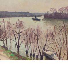 ALBERT MARQUET (1875-1947) La Seine à La Frette