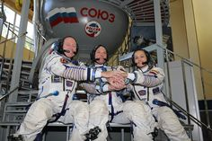 Three International Space Station crew members are scheduled to leave the orbiting laboratory Wednesday, March 11 after almost six months in space performing scientific research and technology demonstrations.