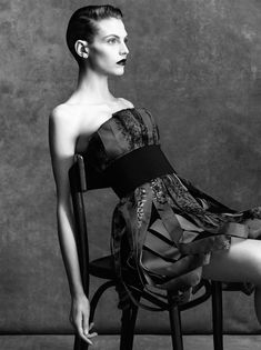 Karlina Caune By Victor Demarchelier For Vogue Spain April 2014 5