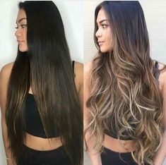 How to take care of dyed hair - - How to take care of dyed hair Tolle haare Wie man sich um gefärbtes Haar kümmert – Just Trendy Girls Brown Hair Balayage, Blonde Hair With Highlights, Brown Blonde Hair, Hair Color Balayage, Brunette Hair, Balayage Brunette Long, Blonde Honey, Honey Balayage, Brunette Color