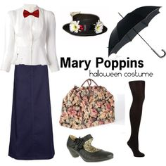 Mary Poppins Costume Idea.