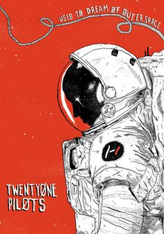 TWENTY ONE PILOTS Poster by Cliff Welch