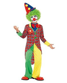 Kids Happy Clown Costume - Spirithalloween.com