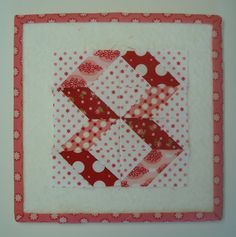 Bee In My Bonnet: Easy Corner Triangles on a Rectangle...