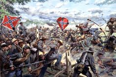 On July 3, 1863, Major General Isaac Trimble's brigade of General Pettigrew's Division, crossed the Emmitsburg Road during Pickett's charge at the battle of Gettysburg. General George Pickett led his