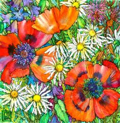 Sofia Perina Miller Poppies & Daisies