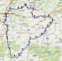 Sedmi průsmyky Vorarlberska s návštěvou Lichenštejnska