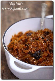 Kapusta wigilijna Olgi Smile Food Porn, Food L, Kapusta Recipe, Wine Recipes, Cooking Recipes, Simply Recipes, Christmas Cooking, Christmas Eve, Batch Cooking
