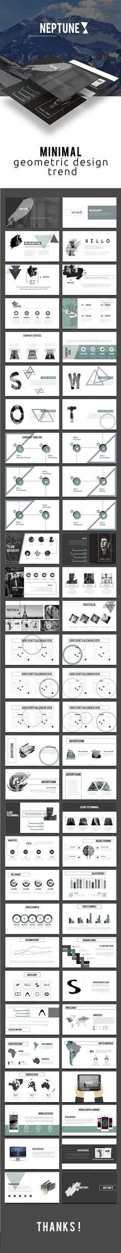 Neptune Powerpoint Template #design #sliders Buy Now: https://graphicriver.net/item/neptune-powerpoint-template/15949628