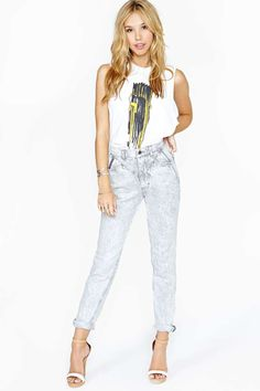 Lee Stormy Sky Jeans