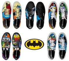 Superga Scarpe estive Batman e Robin Colorate Uomo Donna+Costume Catwoman+Disney