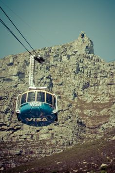 Take the aerial cableway to Table Mountain. Places To See, Places Ive Been, Cape Town Holidays, Most Beautiful Cities, Amazing Places, Port Elizabeth, Table Mountain, Out Of Africa, Countries Of The World