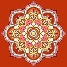 Colors. Mandala
