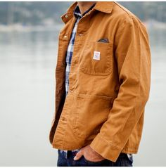 Authentic handmade guideboats, outdoor gear, apparel and accessories. Big Boy Clothes, Work Clothes, Casual Outfits, Men Casual, Work Jackets, Mens Fall, Sharp Dressed Man, Shirt Jacket, Jeans Style