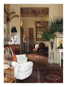 In New Orleans - eclectic - I love it.