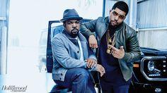 Ice Cube and his son O'Shea Jackson Jr. Ice Cube Son, O Shea Jackson Jr, Suge Knight, Straight Outta Compton, Black Couples, Family Affair, Fine Men