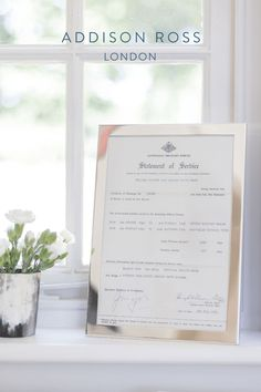 Ideal for certificates and documents,  display your brilliant achievements with pride. #addisonross #certificateframe #silverframe Certificate Frames, Silver Certificate, Gift Boxes Uk, Contemporary Side Tables, Silver Frames, Family Room Decorating, Free Prints, Classic House, Beautiful Gifts