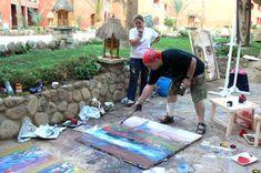 International Art Symposium in Egypt Picnic Blanket, Outdoor Blanket, Egypt, Artist, Artwork, Om Art, Work Of Art, Auguste Rodin Artwork, Artists