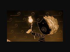 The boy and the moon. Se la luna scopre i colori del sole