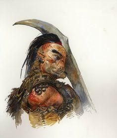 Dark Fantasy, Fantasy Rpg, Warhammer Fantasy, Character Portraits, Character Art, Character Design, Fantasy Portraits, Fantasy Inspiration, Character Inspiration