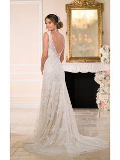 Lace V-Back Sweetheart Neckline Wedding Dress | Wedding Dresses ...