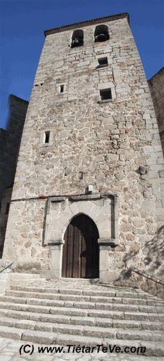 Torre Campanario de la Iglesia de San Esteban del Valle en el Barranco de las Cinco Villas. #valledeltietar