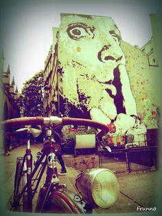 (70) PEUGEOT-mixte  Instagram / http://instagram.com/frunno_paris Facebook : https://www.facebook.com/FRUNNO  #Vintage #Peugeot #Bicycle #Retro #Paris #France #Velo #จักรยาน #TourdeFRANCE #ヴィンテージ自転車 #ปารีส  #パリ #ฝรั่งเศส #复古自 #行车 #法国 #巴黎 #FRUNNO