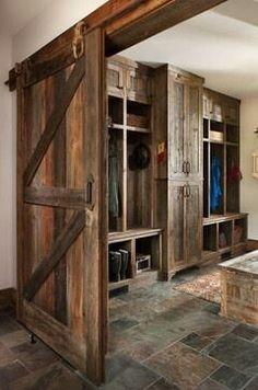 Awesome mud room