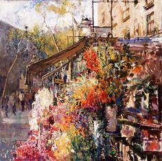 Maher Art Gallery: Joan Marti 1936-2009 | Spanish Figurative painter