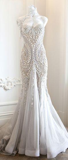 Vestido de novia diferente. J'Aton Bridal