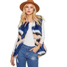 MAC FAUX FUR VEST