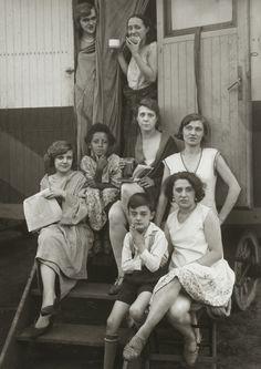 August Sander. Circus Artists. 1926-32