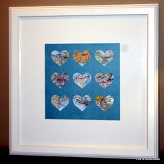 Full of Great Ideas: 'Special place in my heart' Art - Anniversary gift
