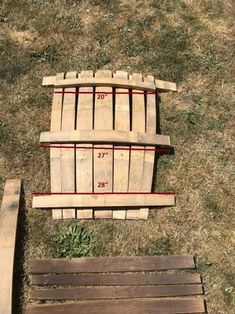 Wine Barrel Adirondack Chair: 10 Steps (with Pictures) Best Picture For Woodworking Techniques awesome For Your Taste You are looking for something, and it is going to tell you exactly what you are lo Woodworking Joints, Woodworking Workbench, Woodworking Workshop, Woodworking Techniques, Woodworking Supplies, Woodworking Furniture, Woodworking Projects, Woodworking Tools, Woodworking Fasteners