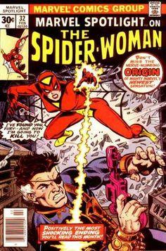 MARVEL SPOTLIGHT 31 THE SPIDER-WOMAN BRONZE AGE MARVEL COMICS