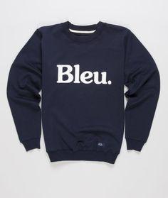 Bleu De Paname - Sweatshirt Logo
