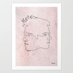 Buy One line Fight Club by Quibe as a high quality Art Print. Worldwide shipping available at Society6.com. Just one of millions of products available.