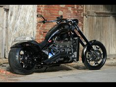 Boss Hoss with a V8.. hell yeah I want one<3