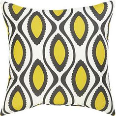 """La Mer White 20"""" Sq. Outdoor Pillow in Outdoor Pillows 