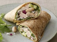 Tuscan Tuna Salad Wrap