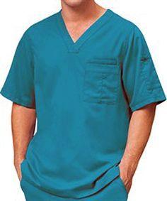 Grey's Anatomy Scrubs Men's V-Neck Top - - Royal Greys Anatomy Men, Greys Anatomy Scrubs, Grey's Anatomy, Scrubs Uniform, Nurse Costume, Cargo Pants Men, Professional Wardrobe, Medical Scrubs, Sewing Projects