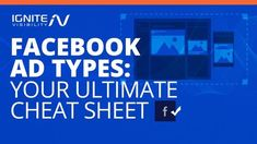 Here's a list of ad types on #Facebook!